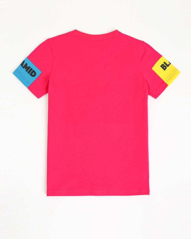 KIDS BLOCKS SHIRT-COLOR: PINK