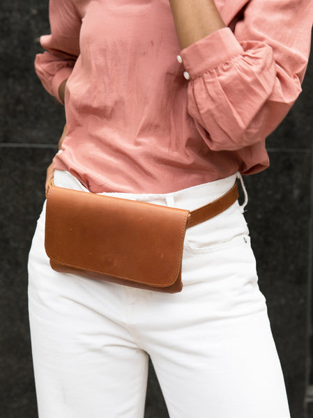 Mare Belt Bag FASHIONABLE Leather