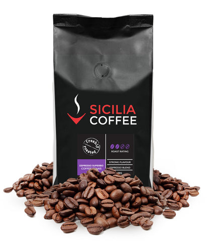 500g Espresso Superbo Coffee Beans