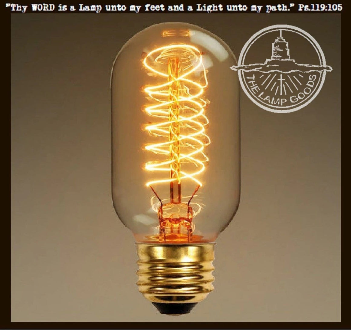 Edison Style Light Bulb for Mason Jar Lighting - 40 watts - The Lamp Goods