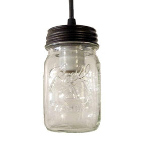 Mason Jar Pendant Light New Pint - The Lamp Goods