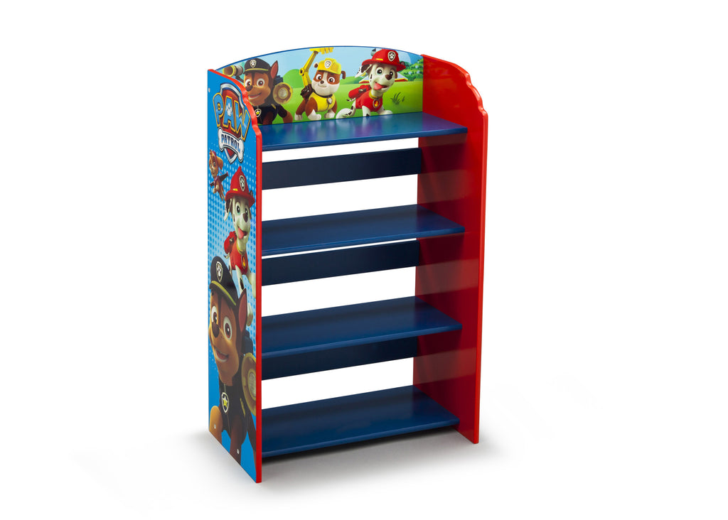Delta Children Paw Patrol Bookshelf Right view a1a