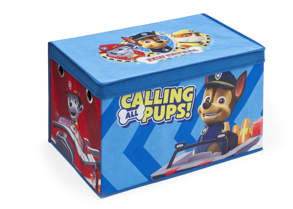 Delta Children PAW Patrol Fabric Toy Box, Right View Style 1 a1a
