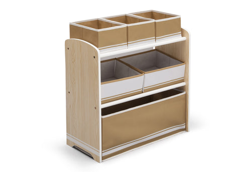Wooden Toy Organizer