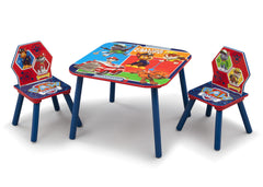 Delta Children PAW Patrol Table and Chair Set, Right View a2a