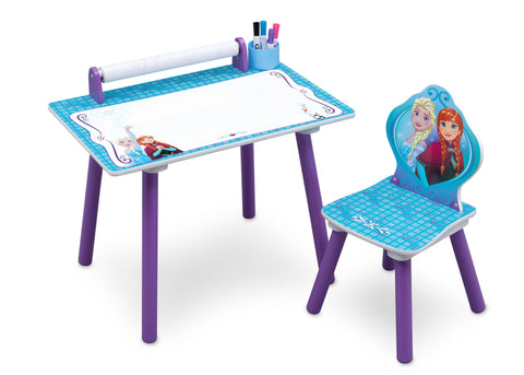 Frozen Activity Desk with Paper Roll