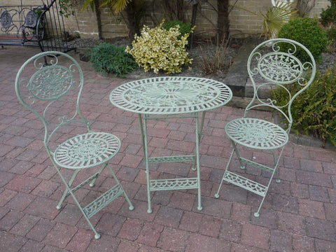 3PCS Garden Bistro Furniture Set In Green | Furniture Checklist