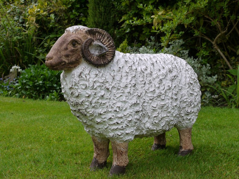 Resin Ram Garden Ornament Furniture Checklist