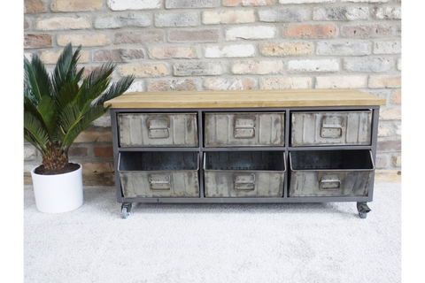 Industrial Cabinet Sideboard TV Unit | Furniture Checklist