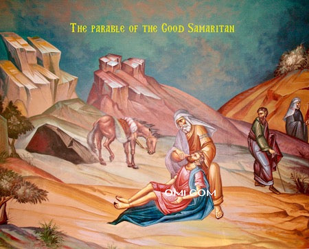 "The ""Good Samaritan"" icon"