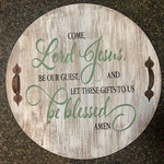 Lazy Susan - Come Lord Jesus, Be our guest