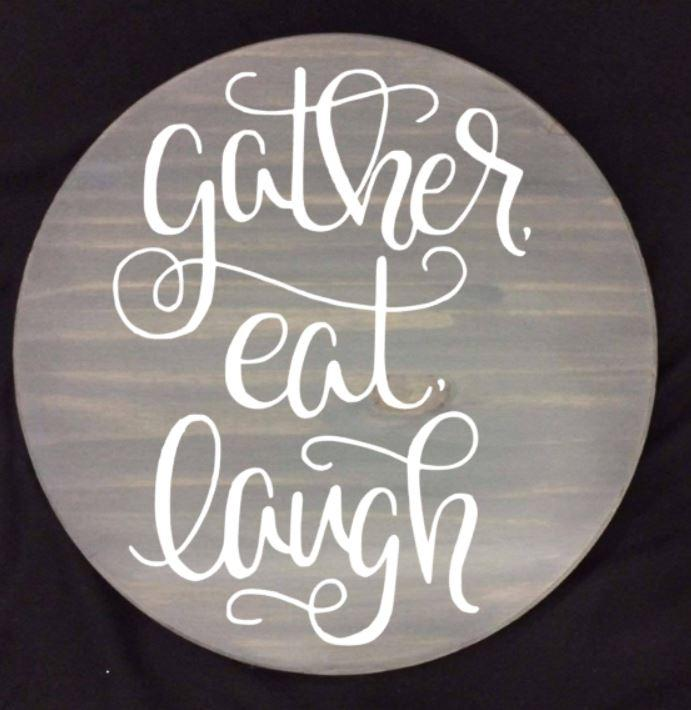 Lazy Susan - Gather eat laugh