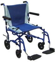 TranSport Aluminum Transport Wheelchair - Accord Medical Supply