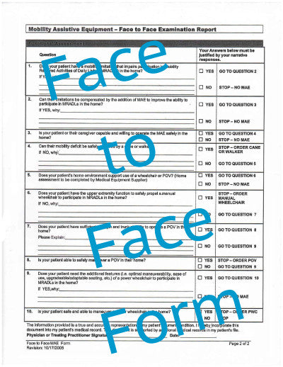 Face-to-Face PDF file - Accord Medical Supply