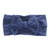 NYLON BOW HEADWRAP