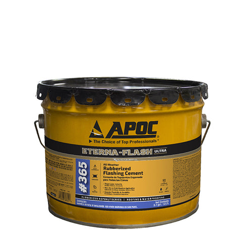 APOC® 365 Eterna-Flash® All Weather / All Season Rubberized Flashing Cement