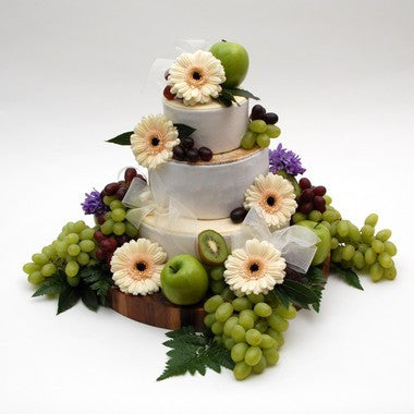 "Cheese Wedding Cake ""Purely Wensleydale"""