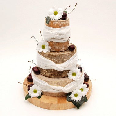 "Cheese Wedding Cake ""Simply Traditional"""