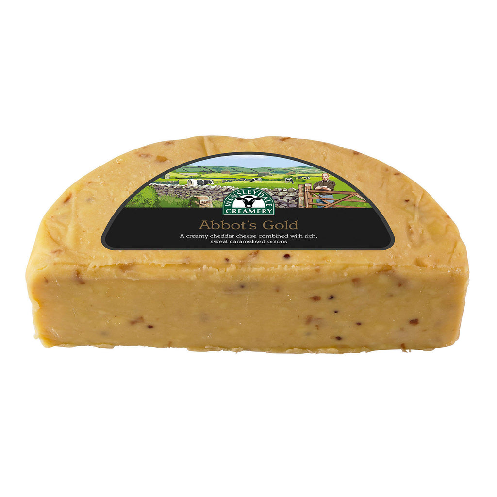 Abbot's Gold Cheddar with Caramelised Onions 1.25kg