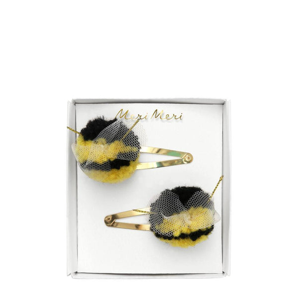 Bumblebee Pompom Hairclip