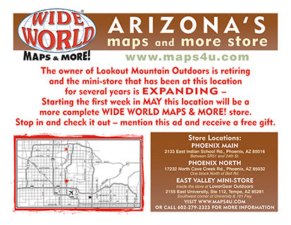 The Owner of Lookout Mountain Outdoors is Retiring & the Mini-Store is EXPANDING!