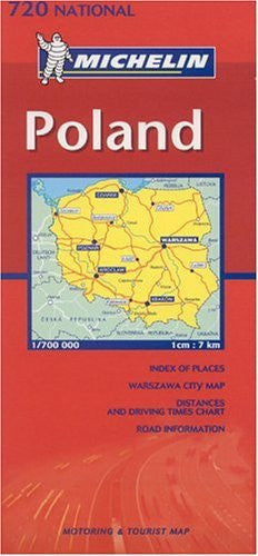 us topo - Michelin Poland Folded Map - Wide World Maps & MORE! - Book - Wide World Maps & MORE! - Wide World Maps & MORE!