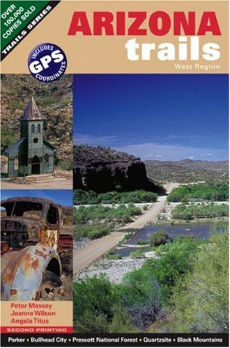 us topo - Arizona Trails West Region (Arizona Trails Backroads Guides) - Wide World Maps & MORE! - Book - Wide World Maps & MORE! - Wide World Maps & MORE!