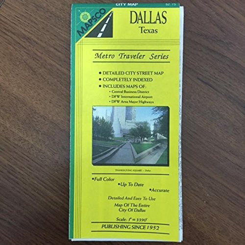 us topo - Dallas City Map - Wide World Maps & MORE! - Book - Wide World Maps & MORE! - Wide World Maps & MORE!