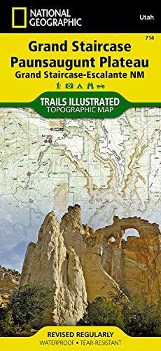 us topo - Grand Staircase, Paunsaugunt Plateau [Grand Staircase-Escalante National Monument] (National Geographic Trails Illustrated Map) - Wide World Maps & MORE! - Book - National Geographic - Wide World Maps & MORE!