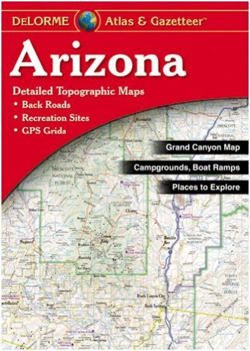 us topo - DeLorme Arizona State Laminated Atlas & Gazetteer - Wide World Maps & MORE! - Map - Delorme - Wide World Maps & MORE!