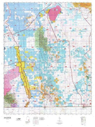 us topo - Arizona GMU 30B Hunt Area / Game Management Units (GMU) Map - Wide World Maps & MORE! - Book - Wide World Maps & MORE! - Wide World Maps & MORE!