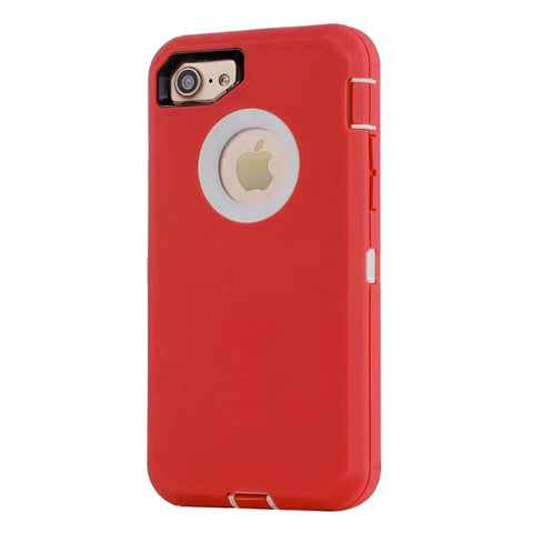 Casephile Defense Case - iPhone 7/8 - Red