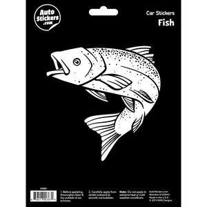 Fish Car Sticker Decal