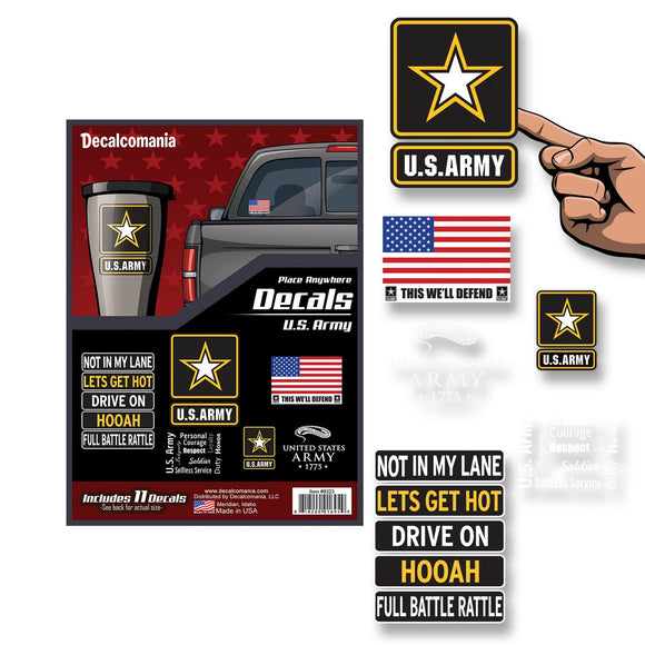 U.S. Army Decals