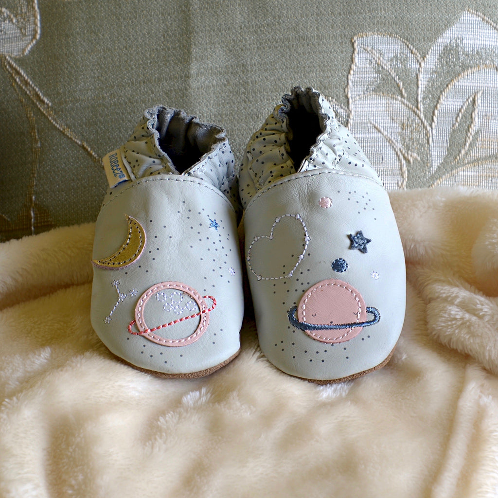 Over the Moon Baby Shoes