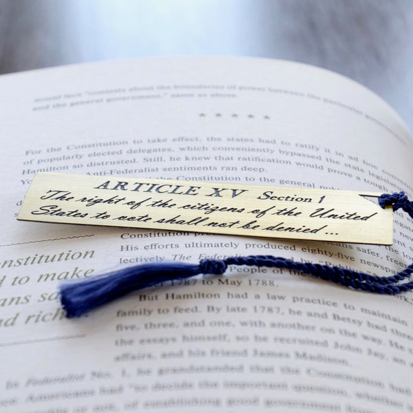 Bill of Rights Bookmark