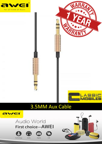 AWEI AUX-001 Audio Cable 3.5mm