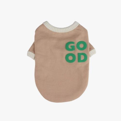 Good Dog T-Shirt Beige