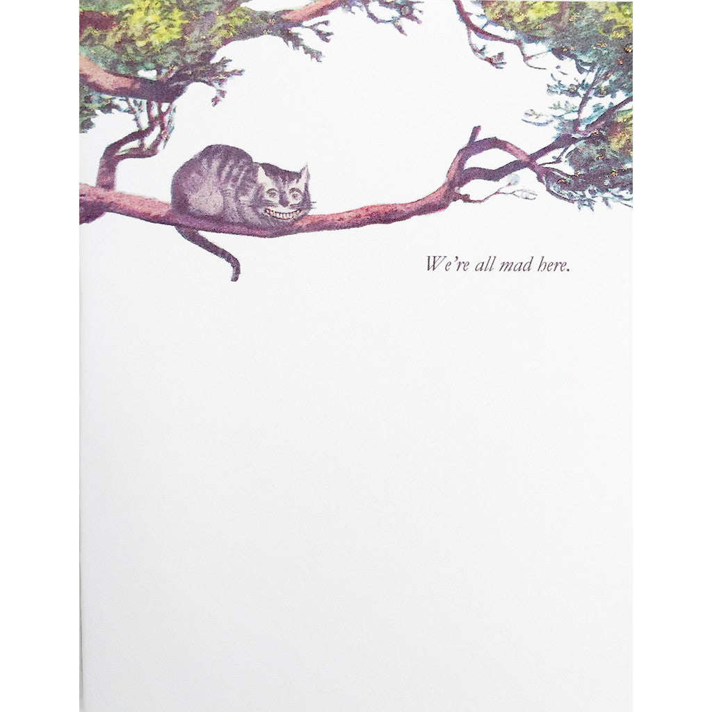 Greeting Card Cheshire Cat - Lumia Designs
