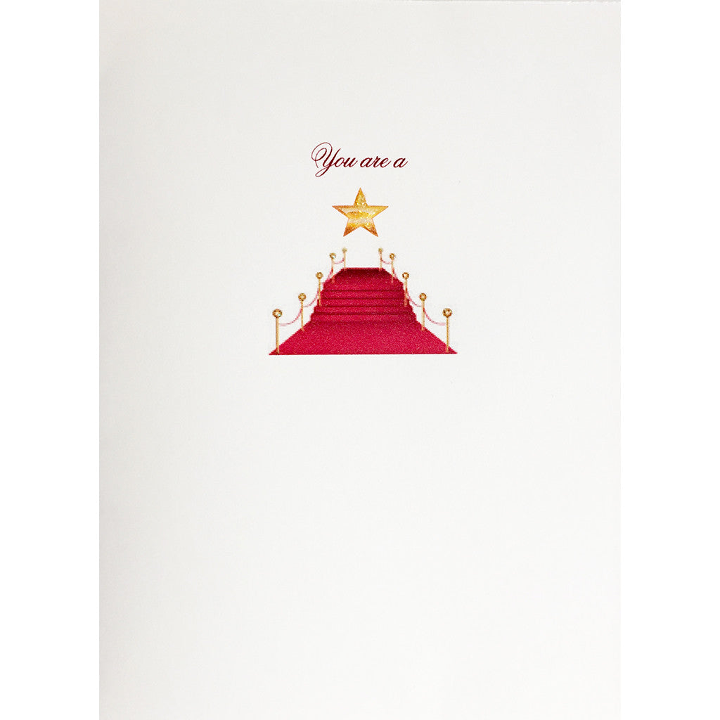 Greeting Card You're a Star - Lumia Designs