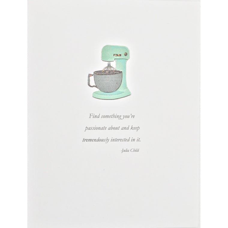 Greeting Card Vintage Mixer - Lumia Designs