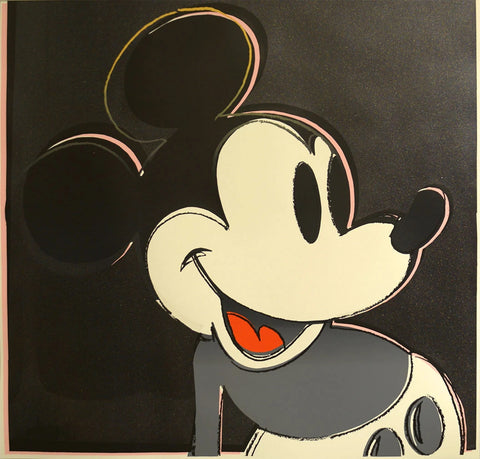 Mickey Mouse - Andy Warhol