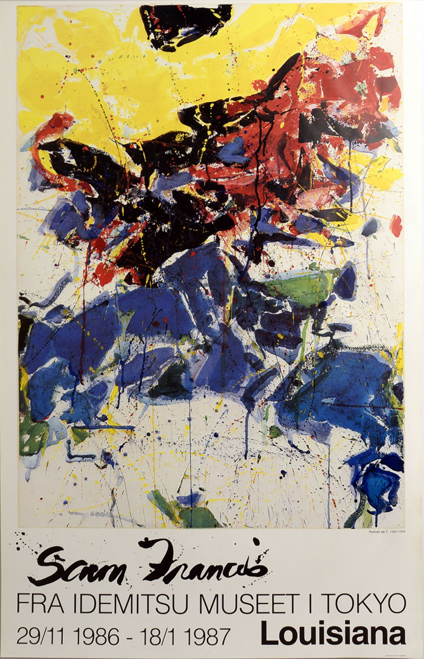 Louisiana 1987  by  Sam Francis