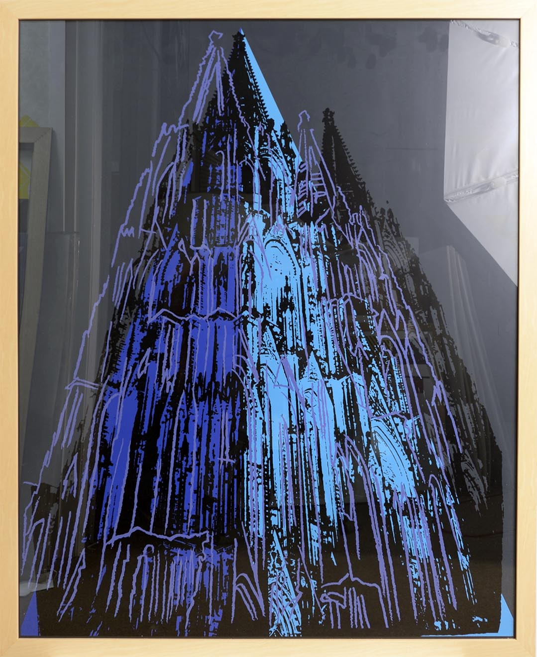 Cologne Cathedral 1985 by ANDY Warhol
