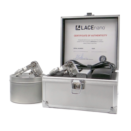 LACEnano - PRO-set (2 x tattoo-machine)