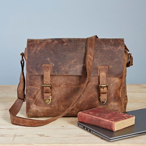 Paper High - Buffalo Leather Large Laptop Bag