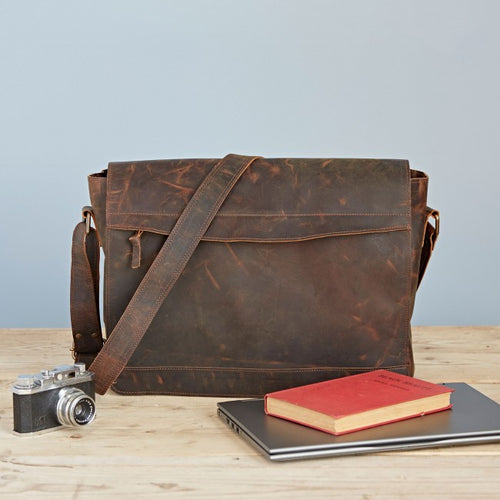 Paper High - Buffalo Leather Executive Briefcase