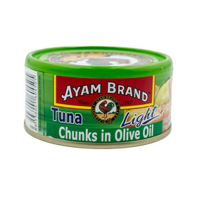 Ayam Brand Tuna Chunks in Olive Oil Light