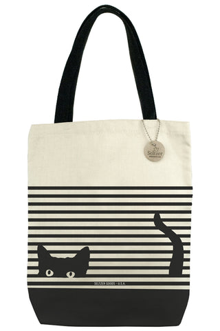 Cat Stripes Tote