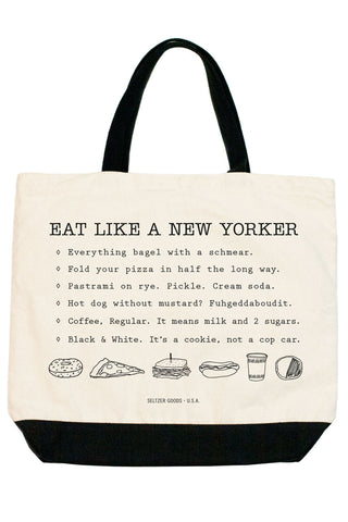 Eat Like New Yorker Tote
